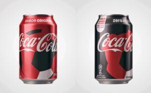 Latas Coca-Cola COPA 2018